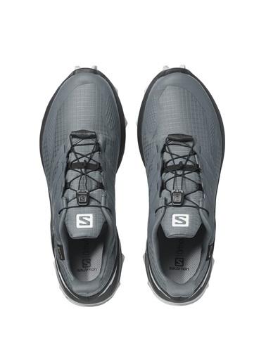 Salomon Supercroos Blast Gtx Erkek Ayakkabı L41109600Swq Gri